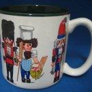 CHRISTMAS HOLIDAY NUTCRACKERS COLLECTIBLE MUG CUP MINT