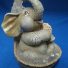 BATHING ELEPHANT WASH TUB CLEAN FUN FIGURING HAMILTON