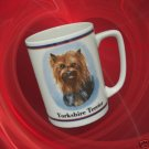 YORKIE YORKSHIRE TERRIER PUPPY DOG COLLECTIBLE MUG CUP
