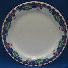 Oneida Sleigh Ride Snowman Christmas Dinner Plates 2