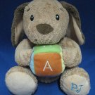 PJ Puppy Dog Musical Sings ABC Plush Toy Bright Starts