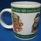 Hallmark Teddy Bears Celebrate Your Heart Christmas Mug