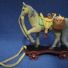 HALLMARK PONY FOR CHRISTMAS HORSE ORNAMENT MIB 1999 NEW