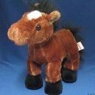 GANZ BROWN ARABIAN HORSE PLUSH STUFFED COLLECTIBLE CUTE