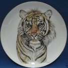 VINTAGE ENESCO BORN FREE TIGER WILD CAT COLLECTOR PLATE