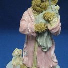 BOYDS BEARS MOMMY BABY TEDDY LATE NIGHT COMFORT MIB NR
