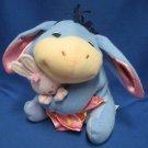 Disney Eeyore Bunny Security Blanket Plush Toy Cuddly