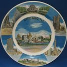 Vintage Chicago Illinois City Souvenir Collector Plate