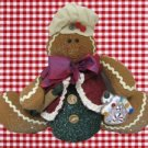 GINGERBREAD BOY DOLL HOLIDAY CHRISTMAS DECORATION CUTE