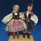 POLISH DANCERS ETHNIC REGIONAL DOLLS POLAND HAND MADE