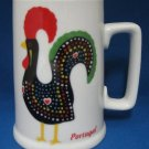 PORTUGUESE LUCKY ROOSTER MUG CUP BARCELOS PORTUGAL WOW