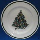 ROYAL CHINA USA CHRISTMAS TREE 1 DINNER PLATE NEW