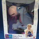 DISNEY BABYS 1st FIRST EEYORE PLUSH MATTEL NEW IN BOX