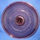 CORNING VISION WARE CRANBERRY 8.5 8 1/2 INCH LID ONLY