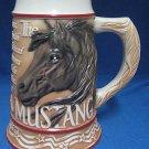 MUSTANG WILD HORSE AMERICAN ANIMAL STEIN TOM OBRIEN NEW
