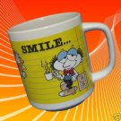 OFFICE TALK SMILE WORRY EVERYONE COMICAL MUG CUP FUNNY