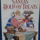 Wilton Santa's Holiday Treats Recipes Idea Book 1995 VG