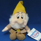 DISNEY SNOW WHITE DWARF SNEEZY  BEAN BAG PLUSH 1st  MWT
