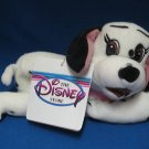 DISNEY DALMATIAN PUPPY JEWEL BEAN BAG PLUSH 1st ED MWT