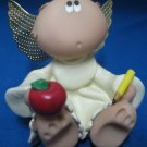 ANGEL CHEEKS TEACHER KIRK'S KRITTERS FIGURINE STATUE