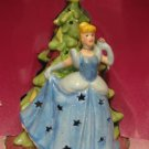 DISNEY PRINCESS CINDERELLA CHRISTMAS LIGHT UP FIGURINE