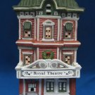 DICKENSVILLE CHRISTMAS VILLAGE ROYAL THEATRE LIGHTED