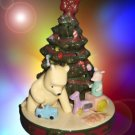 DISNEY CLASSIC WINNIE POOH PIGLET XMAS TREE LIGHTED NIB