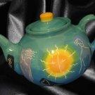 Art Pottery Teapot Nudes Celestial Artist Signed London