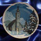SILENT NIGHT CHRISTMAS 1975 COLLECTOR PLATE DANBURY NR