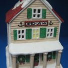Cape Shore Lighthouse Village Anchor Inn Lighted Rare