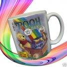 DISNEY TALE OF POOH COMIC BOOK COVER JUMBO MUG CUP MINT