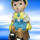 DISNEY PINOCCHIO CERAMIC FIGURINE HAND PAINTED WDP CUTE