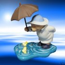 DISNEY POOH FRIENDS UMBRELLA DUCK SHARE FOREVER FIGURE