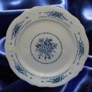 MAYHILL FEDERALIST 4236 BLUE FLOWER CHOP PLATE PLATTER