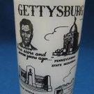 Gettysburg National Shrine Souvenir Glass Vintage 1950s