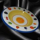PORTUGAL POTTERY LG FRUIT THEME PASTA SERVING BOWL