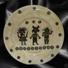 NATIVE KACHINA DOLLS DECORATIVE PLATE DISH SOUTHWEST NR