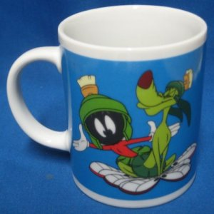 Marvin Marian K9 Dog Looney Tunes Warner Bros Mug Cup