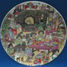 Lucy & Me Christmas Living Room 1979 Collector Plate
