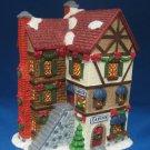 Christmas Village Tavern Cobbler Shop Lighted Building