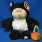 STARBUCKS BEARISTA BEAR 41 HALLOWEEN BLACK CAT 2005 MWT
