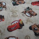 Disney CARS Window Valance Pair Mater Lightening CUTE