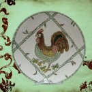 VINATGE FRENCH COUNTRY ROOSTER COLLECTIBLE PLATE 2239