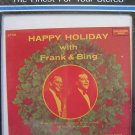 Happy Holidays Christmas Frank & Bing 8 Track Tape NOS