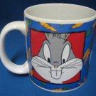 Warner Bros Bugs Bunny Carrots Mug Cup Looney Tunes