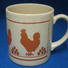 Grindley Chickens Hens Mug Cup England Janet Nottingham