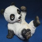 PLAYFUL PANDA PORCELAIN BISQUE FIGURINE UCGC JAPAN CUTE