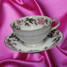 NORITAKE CHINA DELROSA 5208 DINNERWARE 1 CUP SAUCER WOW