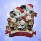 MARYS MOO MOOS JINGLE BULLS CHRISTMAS MUSICAL FIGURINE