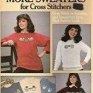 COUNTED CROSS STITCH PATTERN BOOK MORE SWEATS 1986